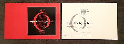 A Perfect Circle Mer De Noms Sticker Promo Tool Puscifer Maynard Vintage 2000