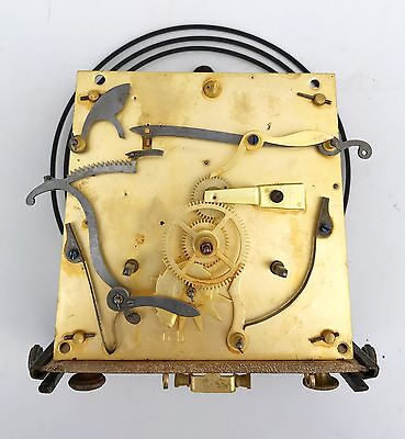 Double Weight Vienna Movement With Bracket Gong & Sledge