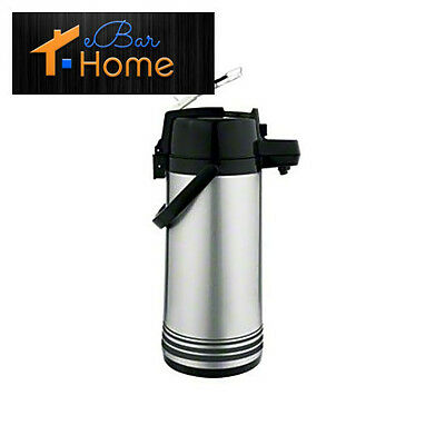 Update International (NLD-19-BK/SF) 1.9 L Stainless Steel Lever-Top Air Pot