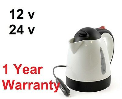 Truckers Kettle 12V/24V Water Heater Lorry Kettle All Ride