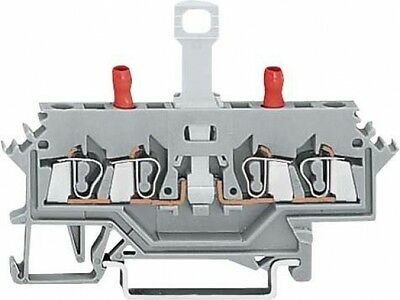 Wago 280-627 2P Grey electrical terminal block - electrical terminal (S2H)