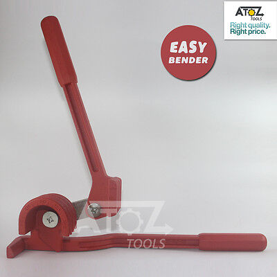 """3 Way 180 Degree Tube Pipe Bender 1/4"""" to 3/8"""" Hand Tool"""
