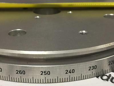 "5-1/2"" Huber Goniometer Micrometer Rotation Disk for Calibration and Fine Tuning"