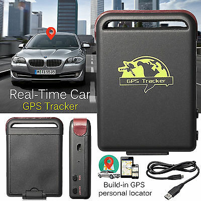 TK102-GPS-Tracker-Magnetic-Car-Vehicle-Spy-Personal Realtime Tracking Device new