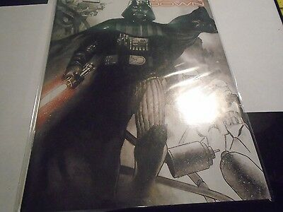 BAM! Box Exclusive Cover Star Wars Vader Down #1 W/COA Comic Book
