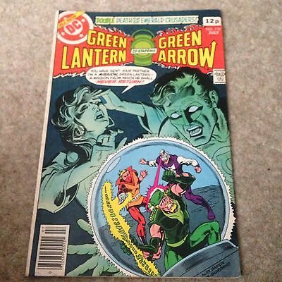 Green Lantern Co-starring Green Arrow Issue 118 Classic Bronze Age Do Comic!!