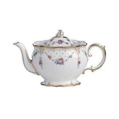 New Royal Crown Derby 1st Quality Antoinette Small Teapot