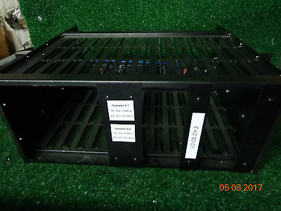 """DX Radio Systems Repeater VHF UHF 19"""" chassis or rack/cabinet NO COMPONENTS #2"""