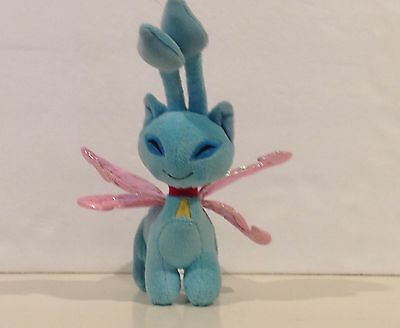 McDonald's Neopets Aisha Fairy Faerie Cat Plush No Tags Blue