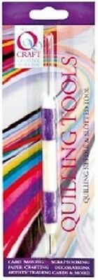 Qcraft Soft Grip Quilling Needle and Slotted Tool