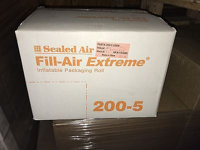 Sealed Air Fill-Air Extreme 200-5 Packing Bags 4,200 Brand New
