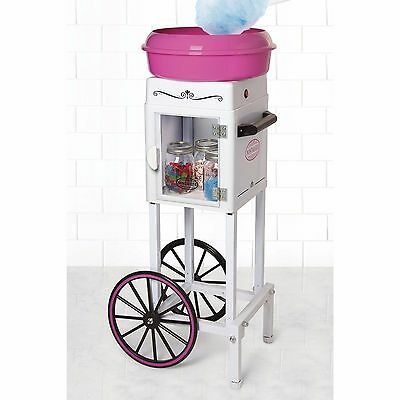 Electric Commercial Cotton Candy Machine Tall Carnival Cart Sugar Floss Maker