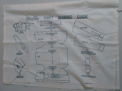 Maytag Shirt Ironing Guide Copyright 1953