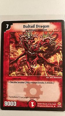 Duel Masters Boltail Dragon Rare Near mint