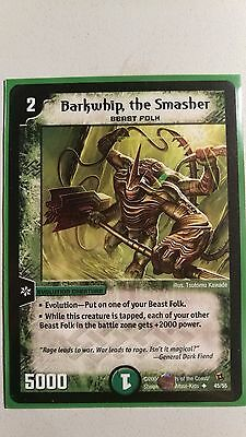 Duel Masters Barkwhip, the Smasher Near mint
