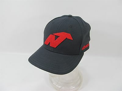 Nordica Black & Red Embroidered Baseball Cap Hat