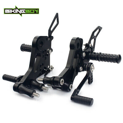 CNC Foot Pegs Rear Sets Rearsets For DUCATI Monster 696 10 11 12 13 14 15 16 17