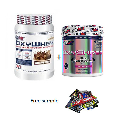 Ehplabs Oxywhey Protein Oxy Whey & Ehplabs Oxyshred  Weight Loss Combination.