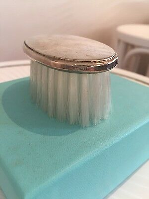 Vintage Sterling Silver Baby's Hairbrush by Tiffany and Co