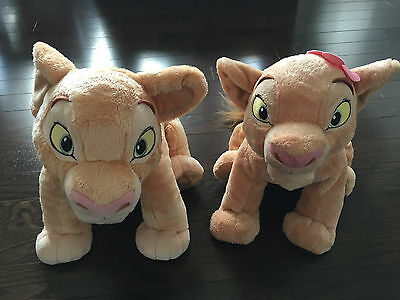 Disney The Lion King Nala Young & Adult Lions Disney Store Authentic