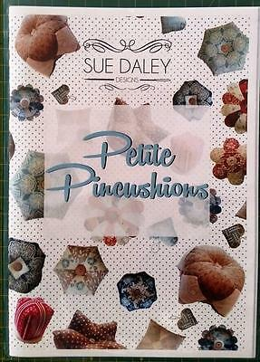 Sue Daley English Paper Piecing Petite Pincushions Booklet