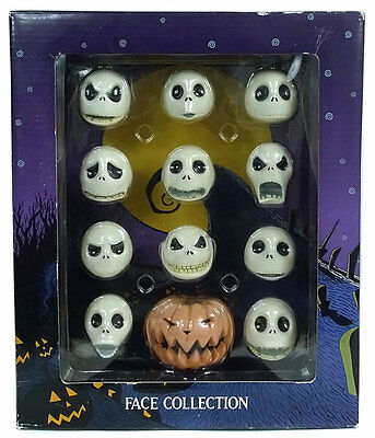 "Nightmare Before Christmas JACK FACE COLLECTION for 16"" Dolls JUN PLANNING LE"