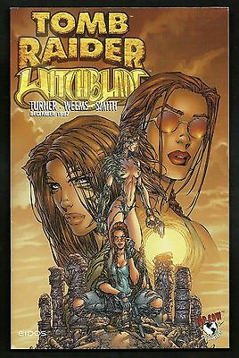 Tomb Raider/Witchblade Special 1, Tomb Raider 1/2, 1 & Preview Ed. (Lot of 5)