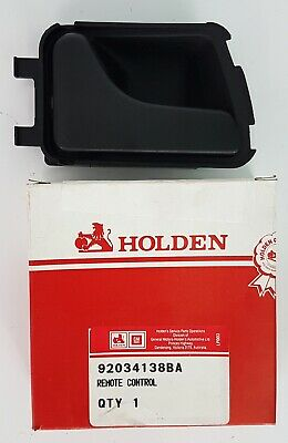 Genuine Holden VN VP VR VS Commodore Left Inner Door Handle (Black) GMH NOS