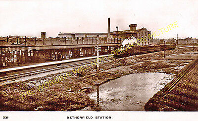 Netherfield & Colwick Railway Station Photo. Nottingham Line. GNR. (3)