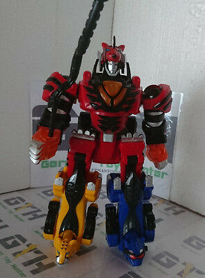 Power Rangers Deluxe Jungle Pride Megazord 100% complete electric works