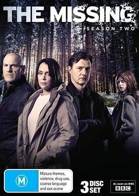 The Missing Season 2 BBC Drama BRAND NEW SEALED R4 DVD