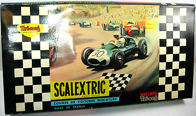 SCALEXTRIC Mecano Tri-and Set   Strecken Lotus MM/C67 & Cooper Austin Slotcar F9