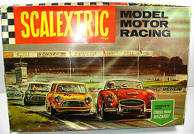 SCALEXTRIC Model Motor Racing Set  Strecken Austin Mini Cooper Slotcar 1:32 F9
