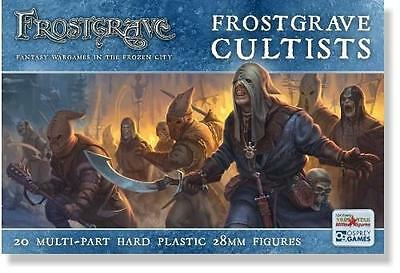 Frostgrave Cultists. 28mm fantasy miniatures.