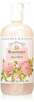 Crabtree & Evelyn Rosewater Hand Wash 500 ml (U0R)