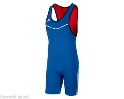 Adidas Wrestling Reversible Wrestler Suit Singlet Adults Mens - V13781