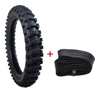 "16"" 90/100-16 16"" Tire Tyre +Tube Dirtbike Rear Motorcycle Scooter Bike"