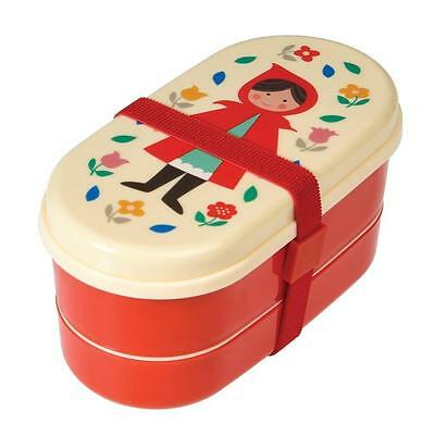 NEW Rex International Small Bento Box - Red Riding Hood