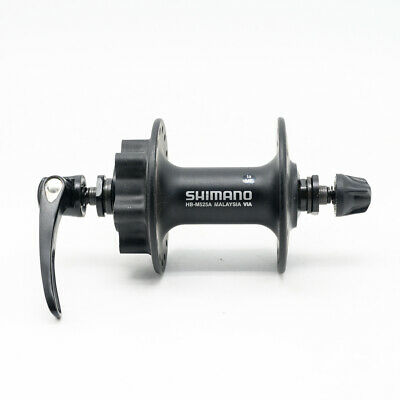 Shimano Deore M525A 32 36H  6-Bolt Disc Hub Front Rear Quick Release Skewer