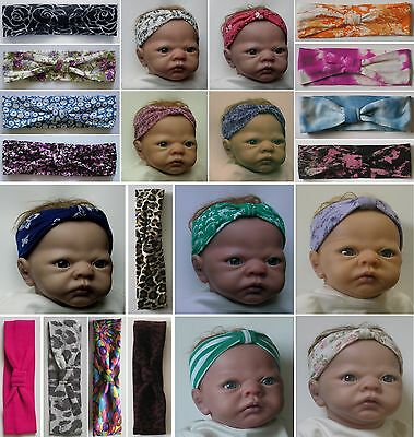 BABY / TODDLER HEADBAND - Vintage Style (1 to 24 months) *CHOOSE FROM SELECTION*