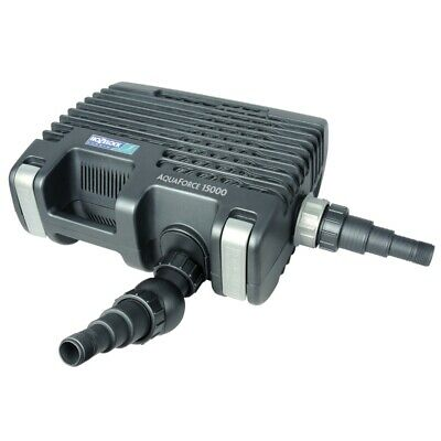 Hozelock Aquaforce 15000 - 1586A - Filter & Watercourse 240V Pump - LATEST MODEL