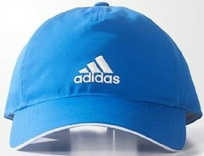 adidas Performance CLASSIC FIVE-PANEL CLIMALITE CAP, BLUE/WHITE - OSFW Or OSFM