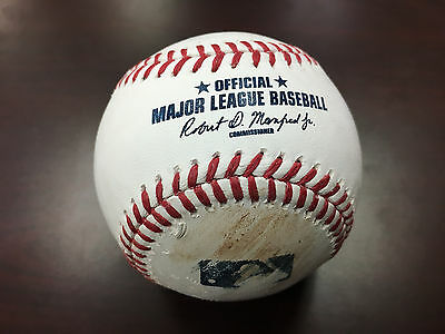 Kyle Seager Hit Ball Seattle Mariners Game Used Major League Baseball 4/28/17