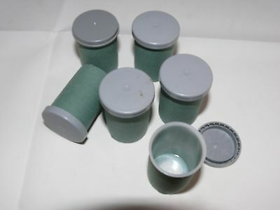 5  Film pots containers or 35mm Film canisters for Geocaching ready to hide