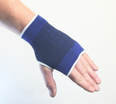Elasticated Hand Support Blue Large
