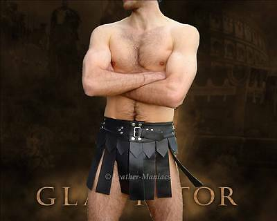 Gladiator skirt Costume leather Kilt Russel Crow