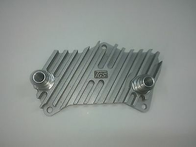 Adapters for oil cooler of DSG gearbox