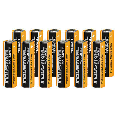 12 Duracell Industrial AA Alkaline Batteries Replaces Procell MN1500 1.5V LR6