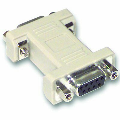 C2G DB9 F/F Gender Changer DB9-Pin DB9-Pin Grey cable interface/gender (r7t)