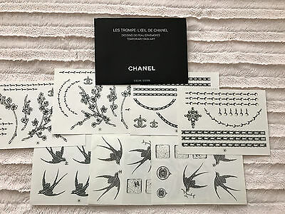 "Chanel Limited Edition - Temporary Tattoos ""Trompes L'Oeil"""